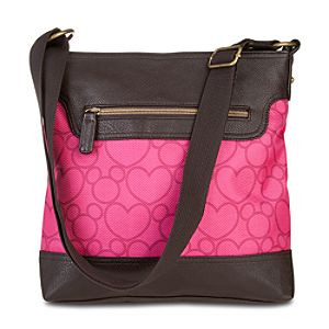 Hearts and Mickey Mouse Shoulder Bag