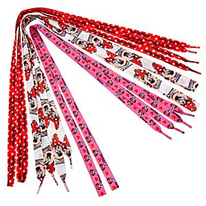 Minnie Mouse Shoelaces -- 3-Pack