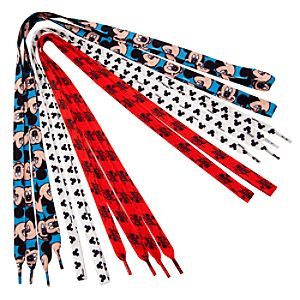 Mickey Mouse Shoelaces -- 3-Pack