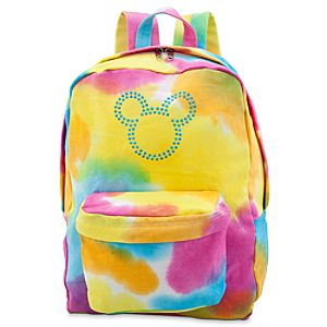 Canvas Tie Dye Backpack