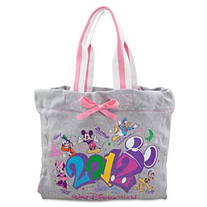 2012 Pastel Pink Walt Disney World Tote Bag