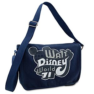 Canvas Walt Disney World Mini Messenger Bag