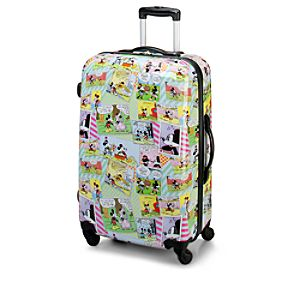 Comic Strip Mickey Mouse Luggage