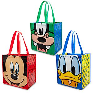 Reusable Mickey Mouse and Friends Tote Set -- 3-Pk.