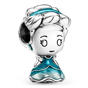 Disney Cruise Line Silver Necklace and Earrings Set