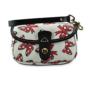 Minnie Mouse Bow Wristlet Bag by Dooney & Bourke -- White