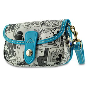 Comic Strip Mickey Mouse Wristlet Bag by Dooney & Bourke