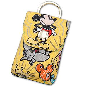 Disney Sketch Credit Card Holder with Keyring by Dooney & Bourke