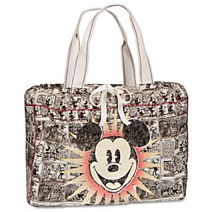 Comic Strip Mickey Mouse Tote