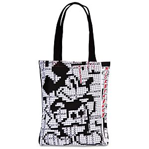 Crossword Puzzle Mickey Mouse Tote