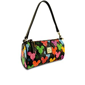 Online Exclusive Balloon Mickey Mouse Mini Barrel Bag by Dooney & Bourke -- Black