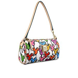 Online Exclusive Balloon Mickey Mouse Mini Barrel Bag by Dooney & Bourke -- White