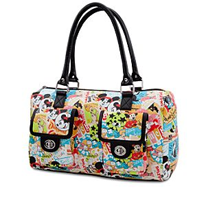 Classic Collage Disney Parks Purse