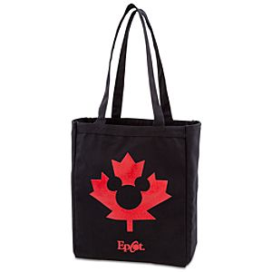 Epcot World Showcase Canada Pavilion Maple Leaf Tote