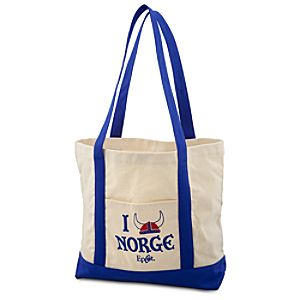 Epcot World Showcase Norway Pavilion I Helmet Norge Tote Bag