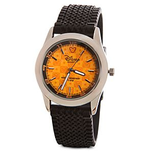 Orange Mickey Mouse Watch for Men