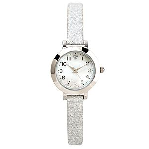 Sparkling Silver Icon Mickey Mouse Watch for Women