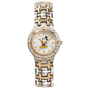 Two-Tone Spirit Mickey Mouse Watch