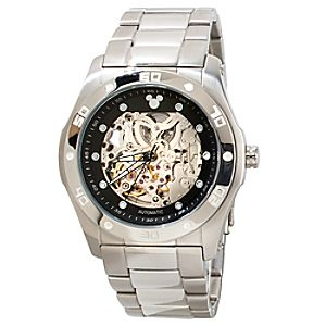 Gears Link Mickey Mouse Watch for Adults