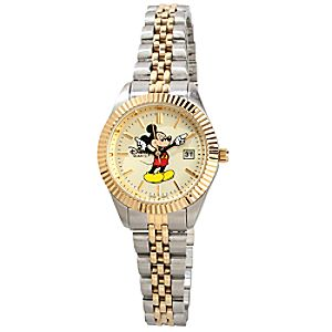 Two-Tone Hands Mickey Mouse Watch -- Small
