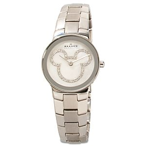 Pavé Crystal Icon Mickey Mouse Watch by Skagen