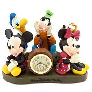 Walt Disney World Mickey Mouse and Friends Clock