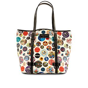 Disney Parks Buttons Mickey Mouse Tote Bag by Dooney & Bourke