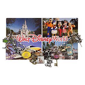 Classic Postcard Walt Disney World Charm Bracelet