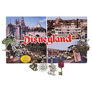Classic Postcard Disneyland Charm Bracelet