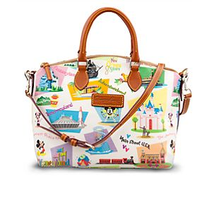 Retro Disneyland Satchel by Dooney & Bourke