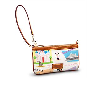 Retro Disneyland Wristlet Bag by Dooney & Bourke