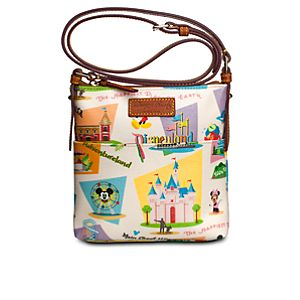 Retro Disneyland Letter Carrier Bag by Dooney & Bourke