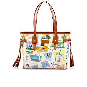 Retro Disneyland Davis Tassel Bag by Dooney & Bourke