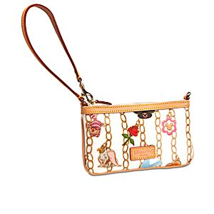 Disney Charms Wristlet by Dooney & Bourke -- White