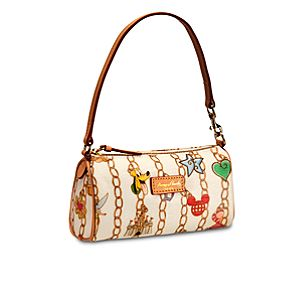 Disney Charms Mini Barrel Bag by Dooney & Bourke -- White