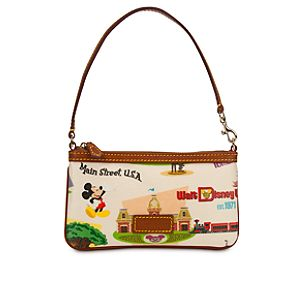 Walt Disney World Wristlet Bag by Dooney & Bourke - Retro