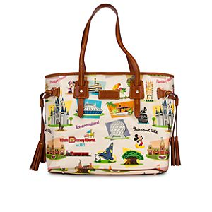 Walt Disney World Davis Tassel Bag by Dooney & Bourke - Retro