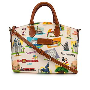 Walt Disney World Satchel by Dooney & Bourke - Retro