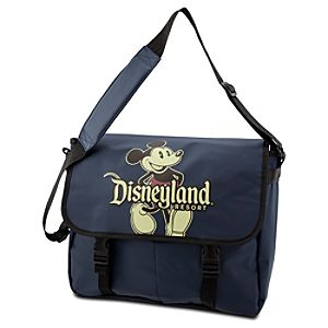 Disneyland Mickey Mouse Messenger Tote