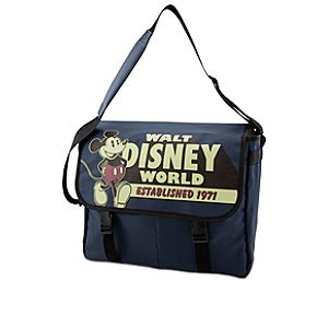 Walt Disney World Mickey Mouse Messenger Tote