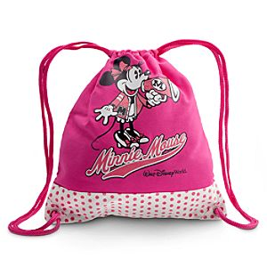 Canvas Walt Disney World Minnie Mouse Cinch Bag