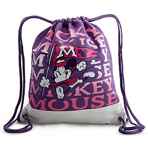 Canvas Walt Disney World Mickey Mouse Cinch Bag
