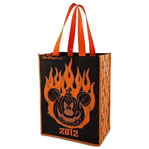 Light Up 2012 Disneyland World Halloween Mickey Mouse Tote