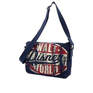 Canvas Walt Disney World Messenger Bag