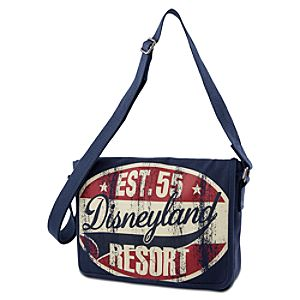 Canvas Disneyland Messenger Bag