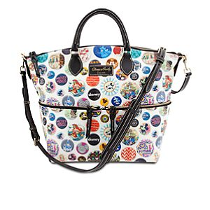 Disney Parks Buttons Mickey Mouse Satchel by Dooney & Bourke