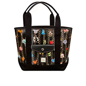 Disney Charms Tote by Dooney & Bourke - Black