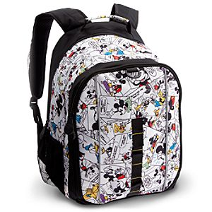 Comic Strip Mickey Mouse Backpack