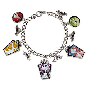 Tim Burtons The Nightmare Before Christmas Charm Bracelet