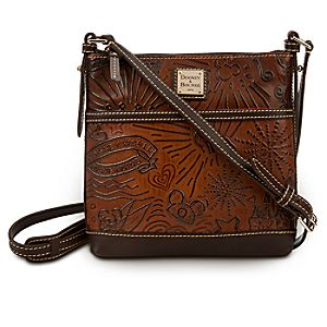 Disney Sketch Leather Crossbody Bag by Dooney & Bourke